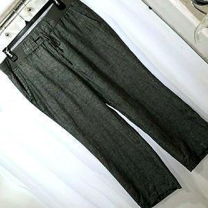 Soho Street blue linen pants